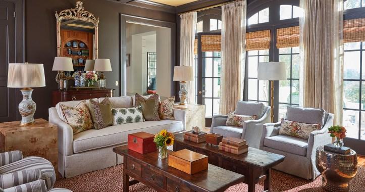 Grace Brackman interior design living room