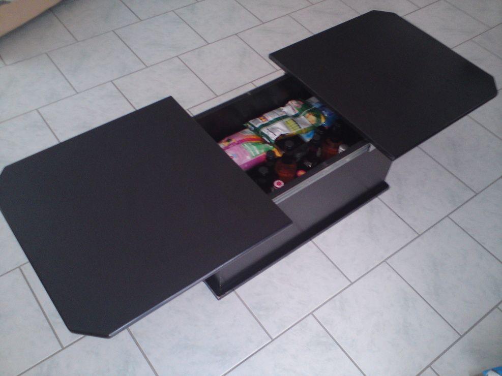 table basse bar noire