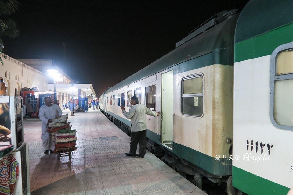 埃及夜臥火車-亞斯文到開羅睡一晚埃及臥鋪火車就到 - 遇見天使~Angela