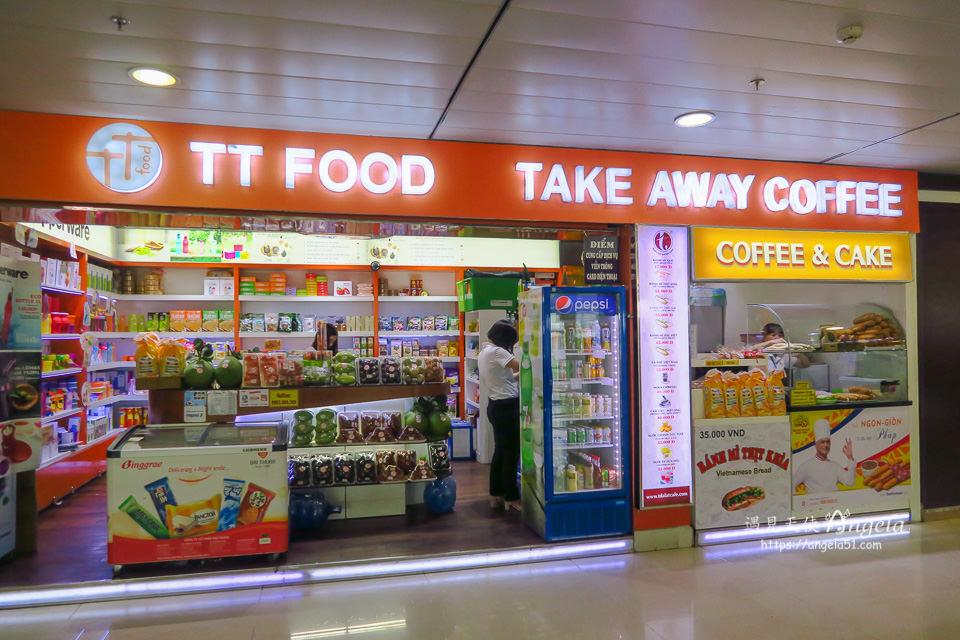 胡志明機場國內線航廈美食,購物有哪些 ? - 遇見天使~Angela