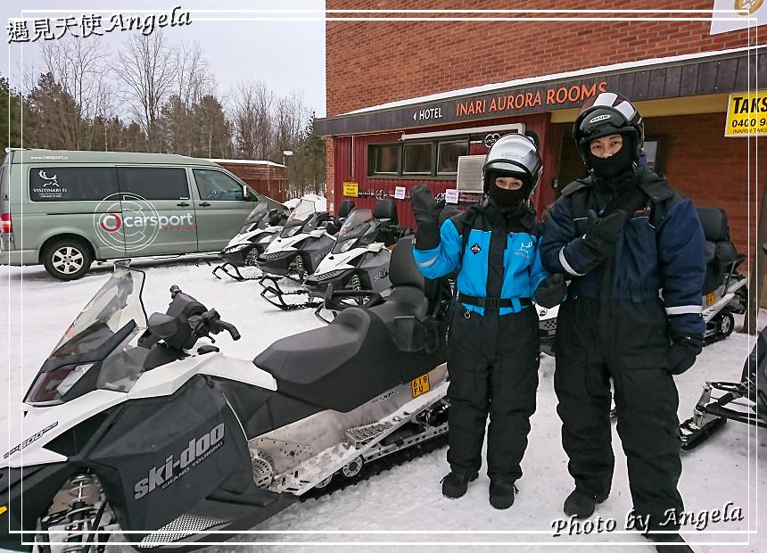 芬蘭 Inari 景點 Museum SIIDA & 雪地活動體驗 Snowmobile - 遇見天使~Angela