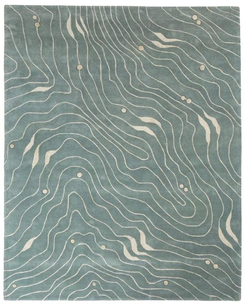 Waves  angela adams  modern area rugs handcrafted