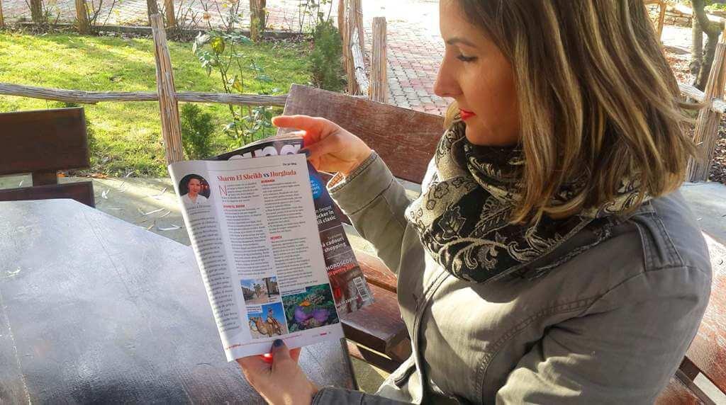 Angela Călătorește în revista Ioana