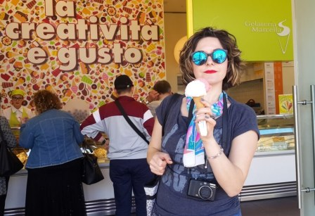 Mâncarea italiană - înghețată - doza de Italia