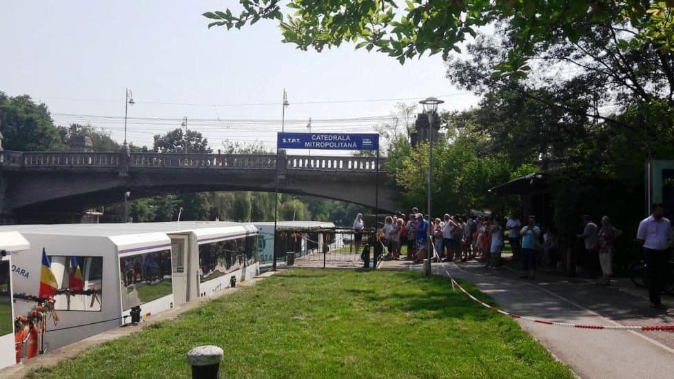 Timișoara transport public pe apă