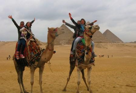 a zecea oară în Egipt