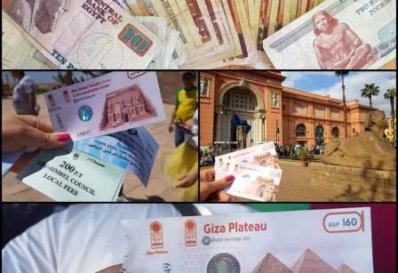 buget pentru o lună în Egipt