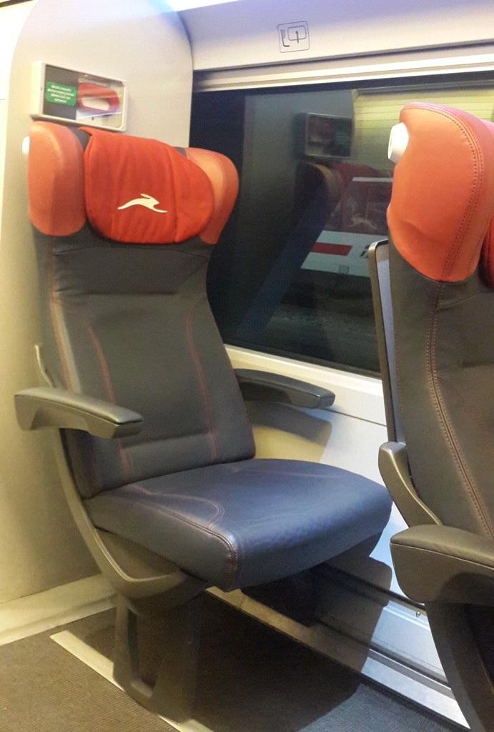 cu trenul de la Roma la Florența