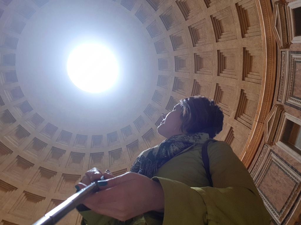 vreme ploioasă la Roma