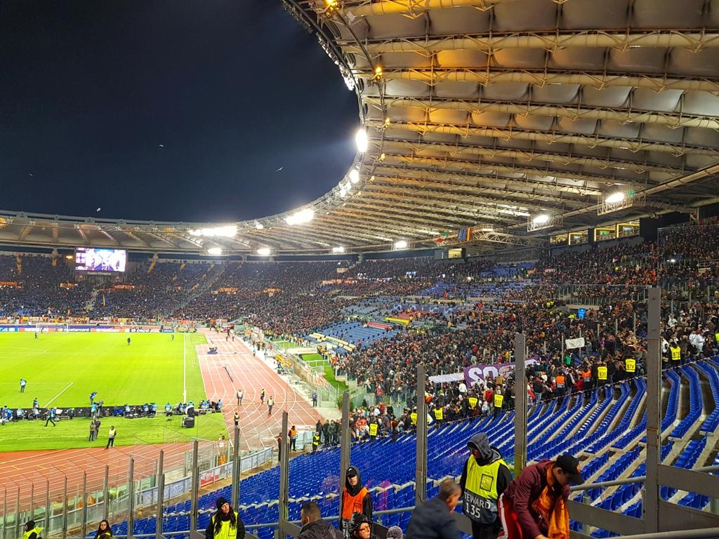 primul meu meci de Uefa Champions League