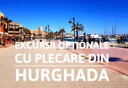 Excursii opționale cu plecare din Hurghada
