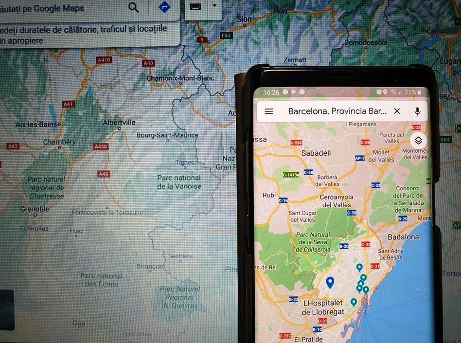aplicații utile în călătorii