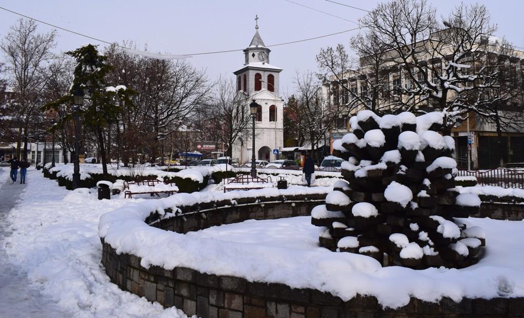 iarnă de poveste la Tulcea