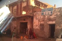 Street scene/damaged buildings