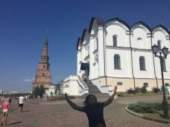 Photobomber in Kazan