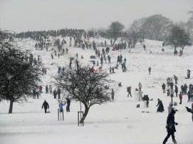 London at play. Primrose Hill