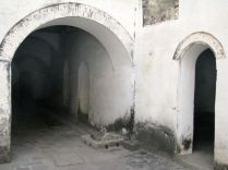 Inside the dungeons of Elmina where up to 1,000 capitves were kept