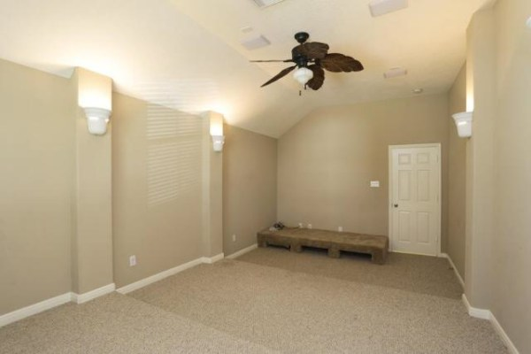 Home Theater / Media Room Makeover - Before
