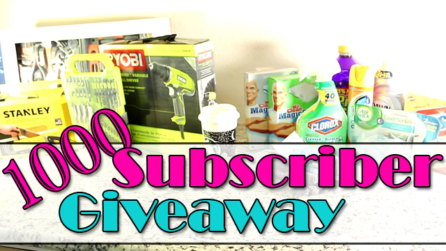 1K Youtube Subscriber Giveaway