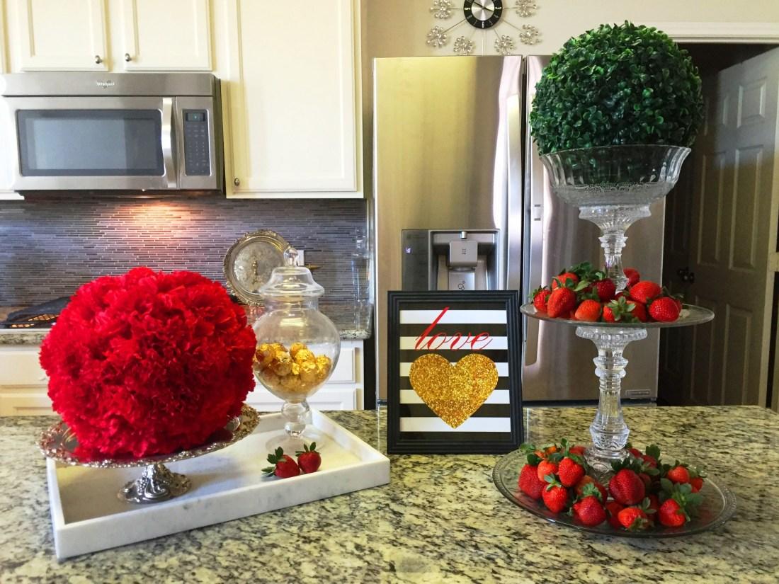 Budget Friendly Valentine's Decor #homedecor #interiordesign #DIY at angelaeast.com
