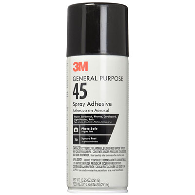 3M General Purpose 45 Spray Adhesive