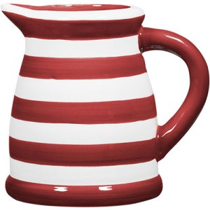 Small Front Porch Decorating Ideas For Summer |Home Essentials Red White Stripe Pitcher| Outdoor Living | Home Decor | Curb Appeal | Fourth of July Decoration | 4th of July Decoration