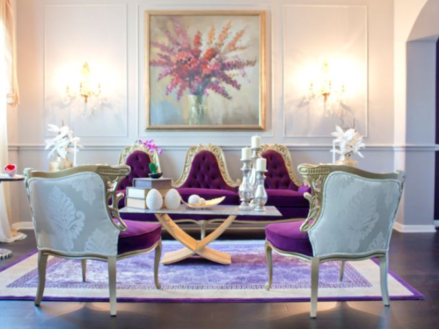 Reupholster Antique Furniture | Purple Velvet Sofa | Craig's List Find | Furniture DIY | Furniture Refinishing