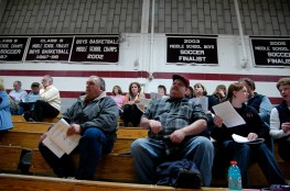 School District Meeting, Wilton, NH