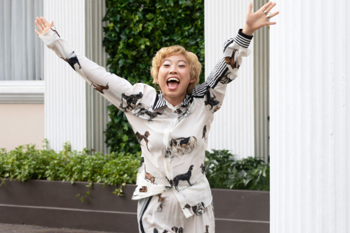 Awkwafina  Peik Lin Crazy Rich Asians scene