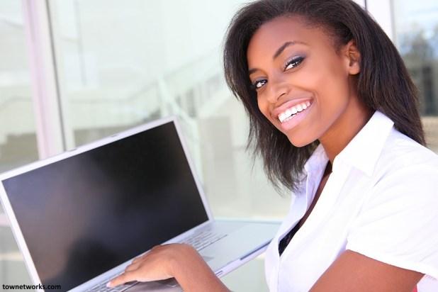 enterprising African woman