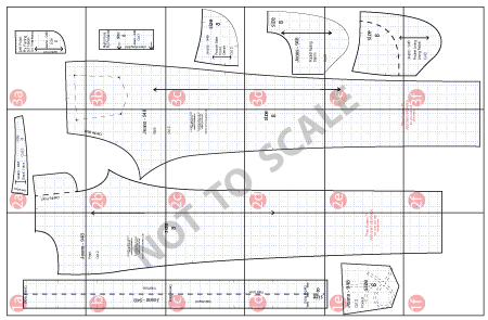 Easy PDF Sewing Patterns from Angela Kane