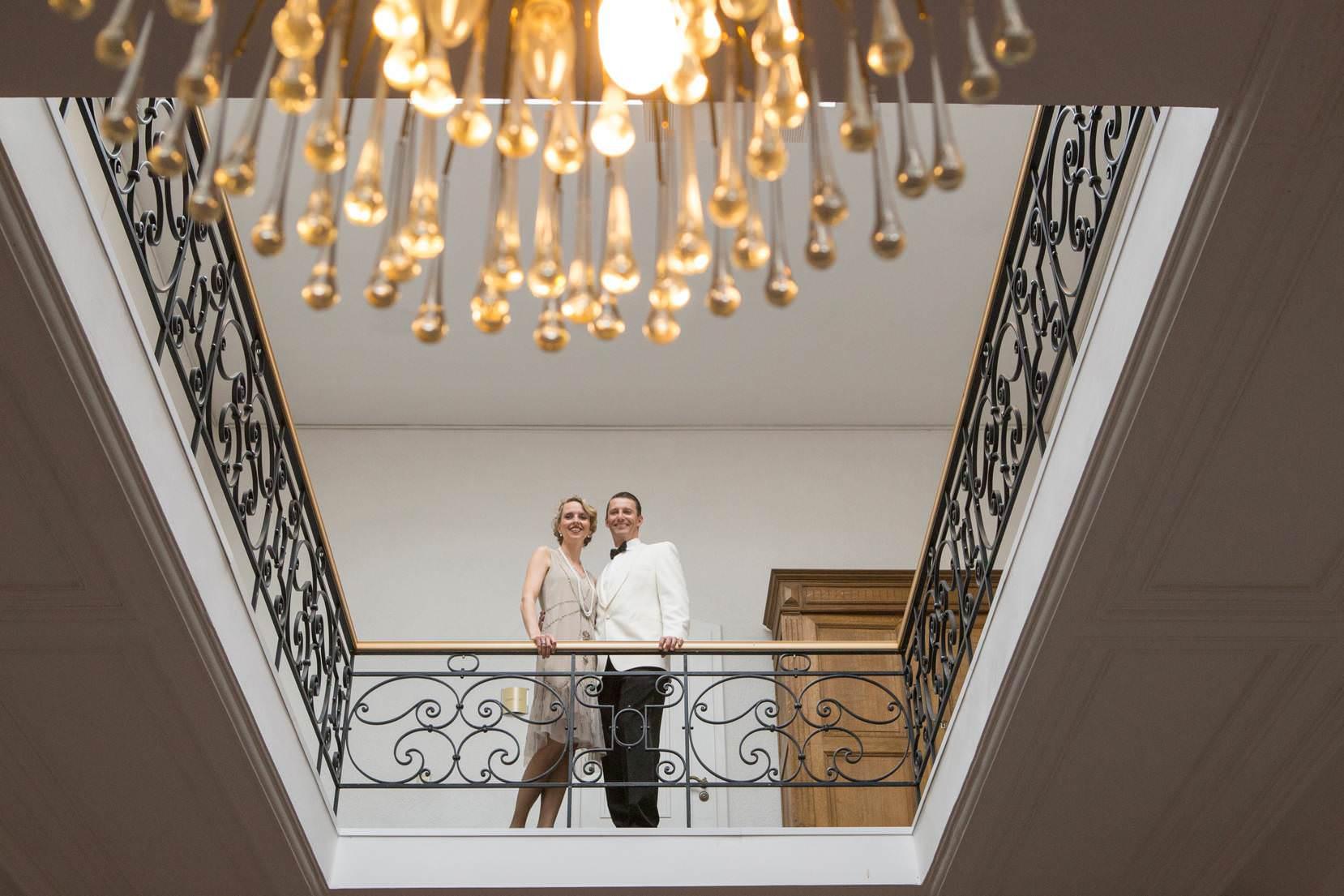 Die goldenen zwanziger  Angela Krebs Hochzeitsfotograf in