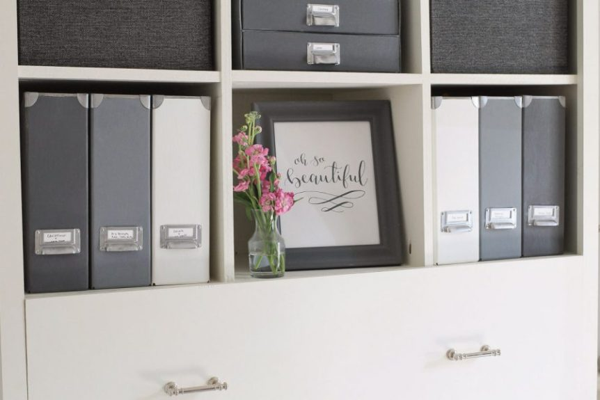IKEA Hack Magazine Files | Extra Space Storage Ideas | Make Your Space Work For You