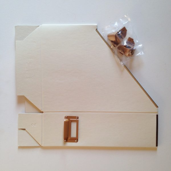 IKEA magazine holders before painting