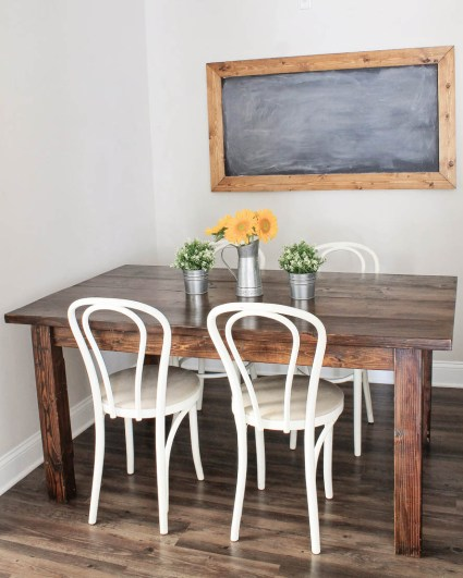 diy table removable legs farmhouse table diy with removable legs angela made