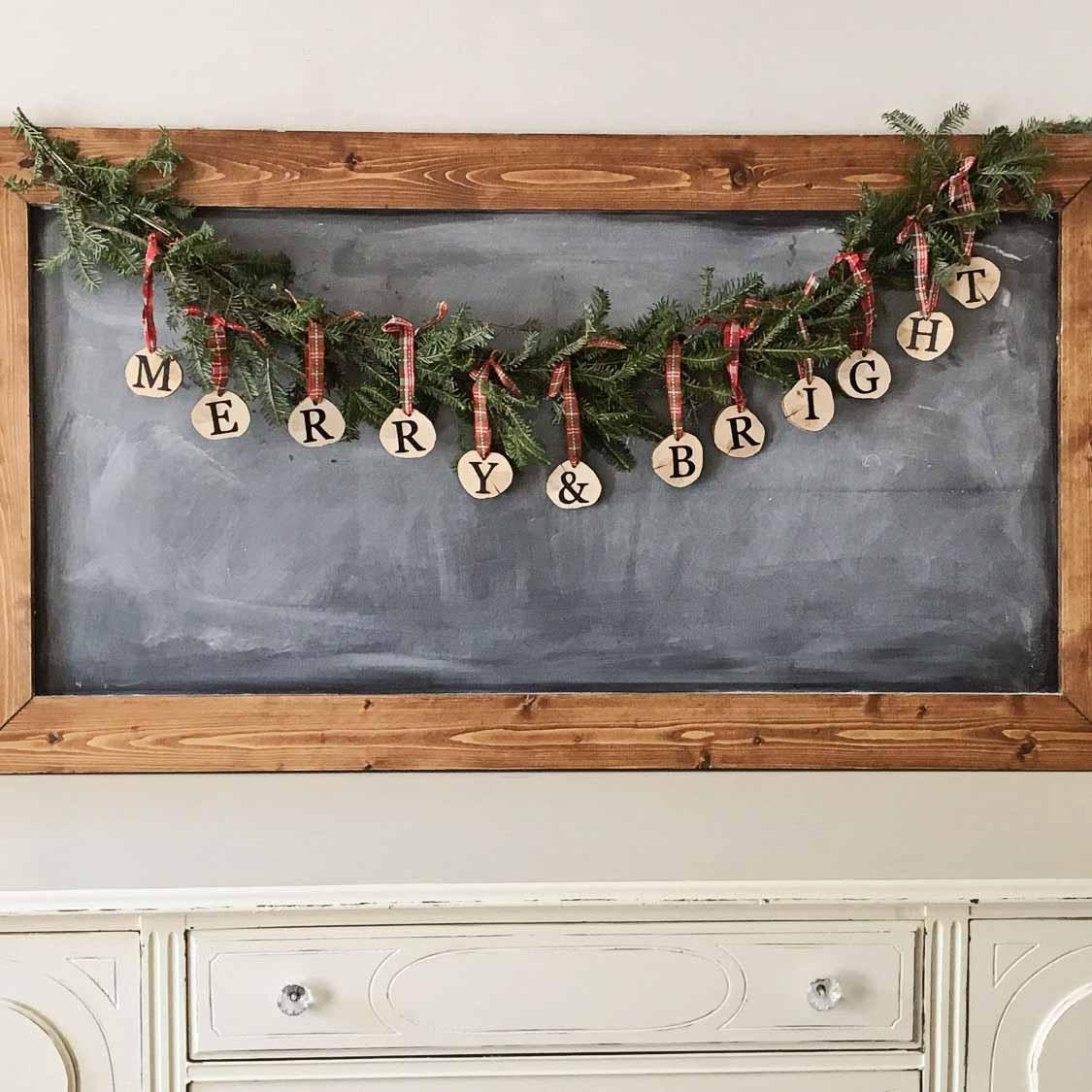 Diy Wood Christmas Tree Mason Jar Sconce Angela Marie Made