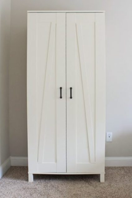 ikea hack aneboda wardrobe angela marie made. Black Bedroom Furniture Sets. Home Design Ideas