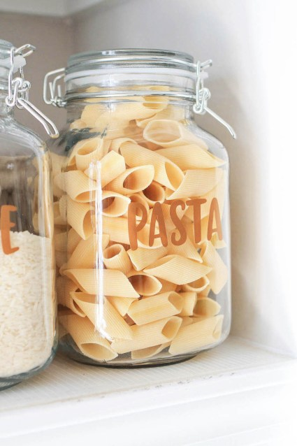 how to make pantry label decals and stickers angela marie made