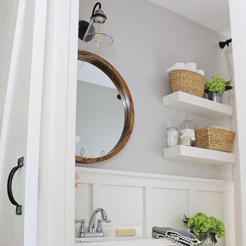 Master Bathroom Makeover Reveal