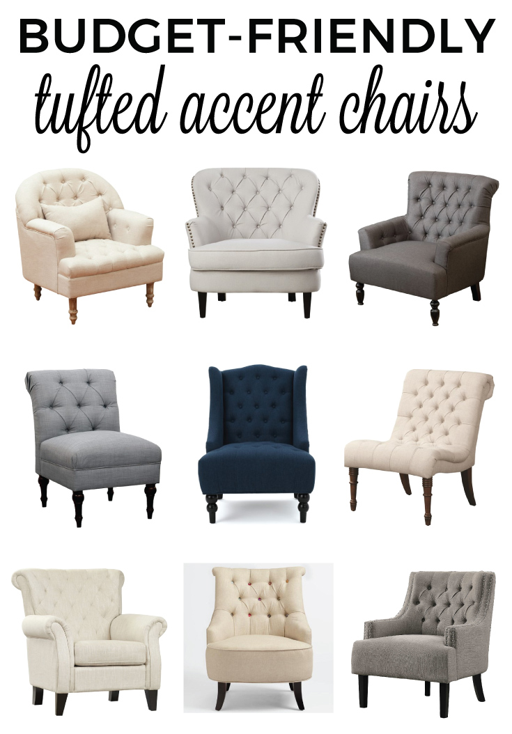 Popular Tufted Accent Chair Decoration