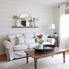 Images Of Modern Rustic Living Rooms Clock For Room Makeover Angela Marie Made
