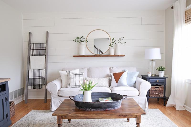 Delicieux Modern Rustic Living Room Makeover