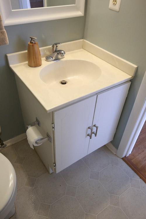 One Room Challenge Week Half Bathroom Angela Marie Made - One week bathroom