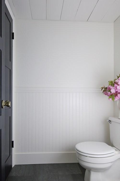 diy beadboard bathroom angela marie made