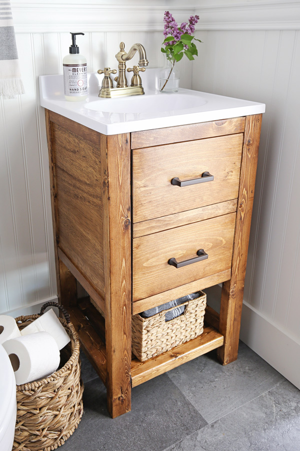Awesome Diy Bathroom Vanity For 65 Angela Marie Made Download Free Architecture Designs Ferenbritishbridgeorg