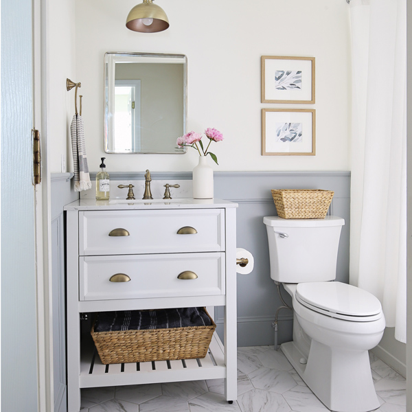 Small Bathrooms Makeover: Small Bathroom Makeover Reveal