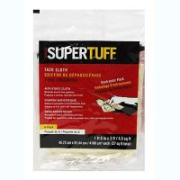 Trimaco 10506 SuperTuff Tack Cloth, 18 x 36-inch, 6 Count, Pack of 6, tan