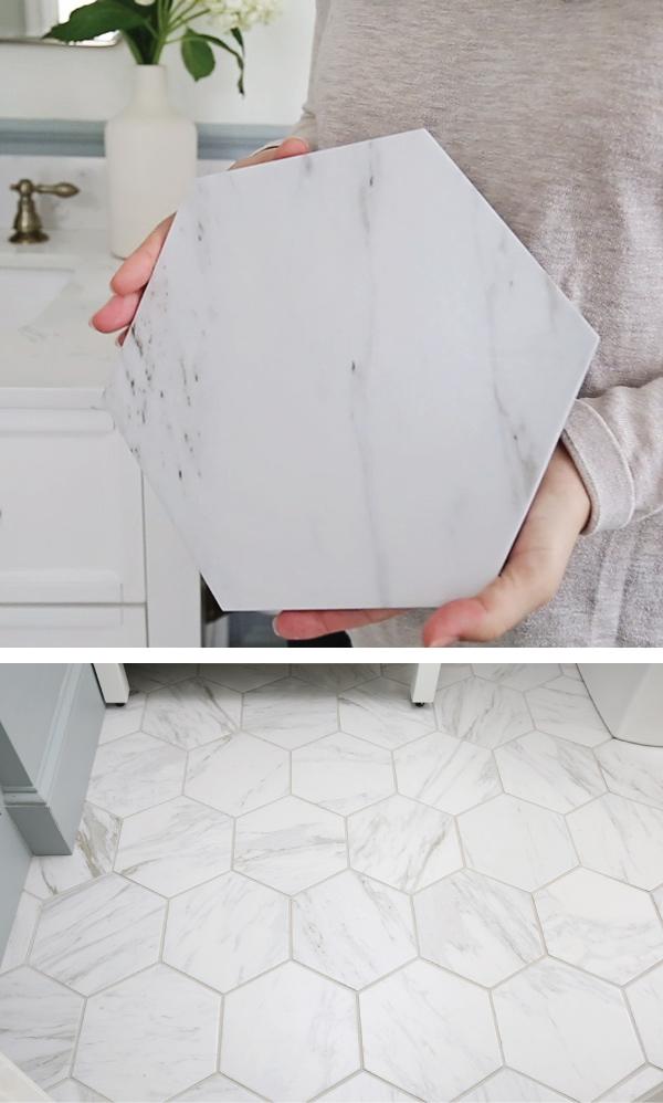 my favorite porcelain marble tile