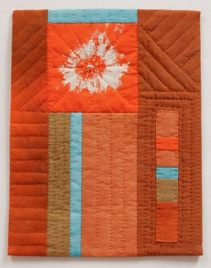 Orange Journal Quilt