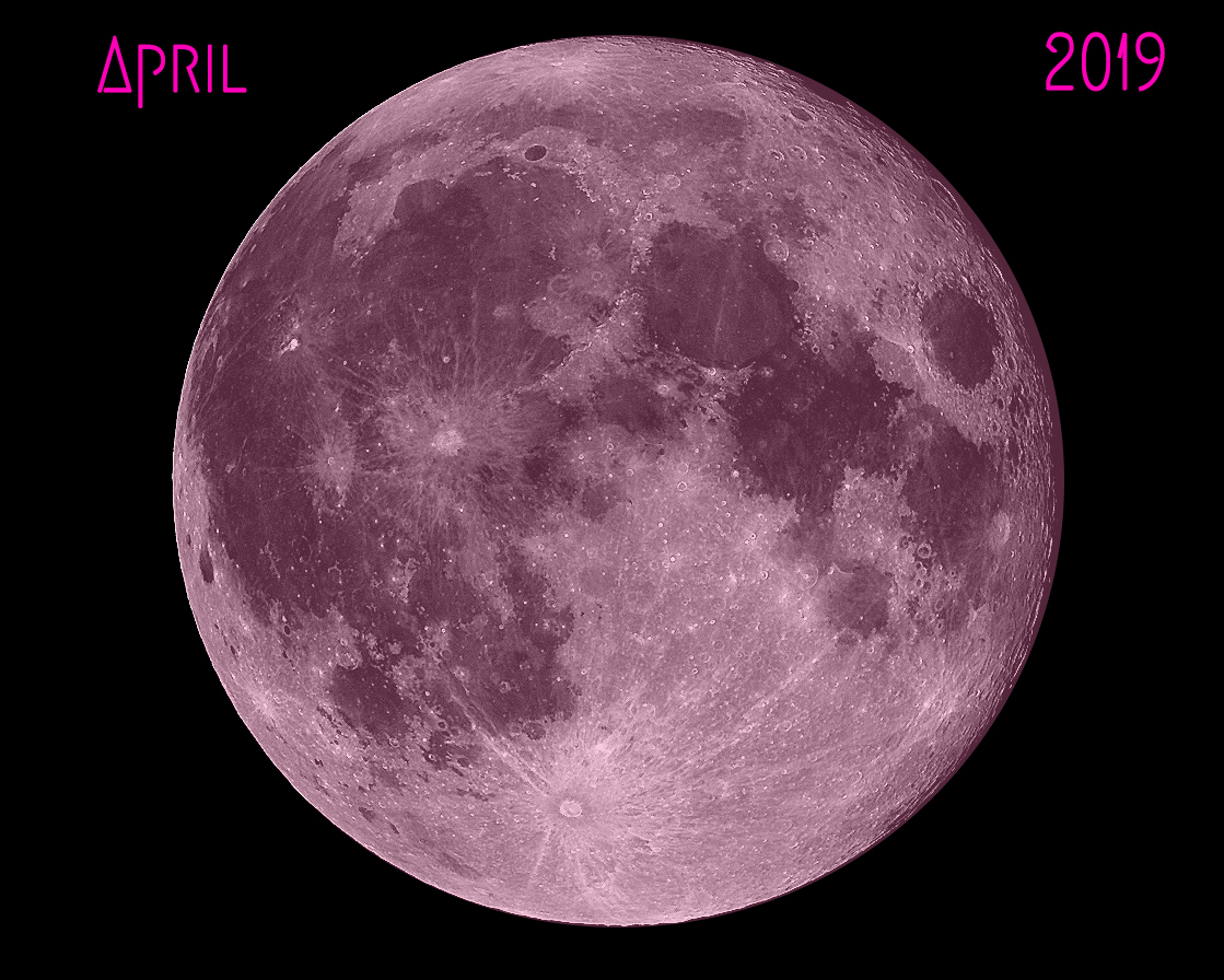 Full Moon Spell: Pink Moon – April 19, 2019 – Angela Mary ...